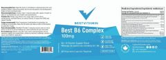BestVitamin B5 Complex Label