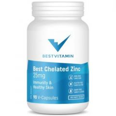 BestVitamin Best Chelated Zinc 25mg (Best Absorption)