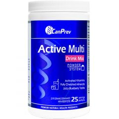 CanPrev Active Multi Drink Mix - Juicy Blueberry, 219 g
