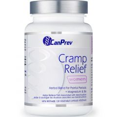 CanPrev Cramp Relief for Women, 120 Vegetable Capsules