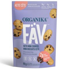 Organika FAV Collagen Cookies (Gluten & Grain Free! Keto Friendly) 3 Cookies per Bag ~ NEW! (Coming Soon! Enter email to be notified)