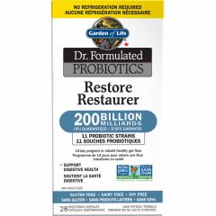 Garden of Life Dr. Formulated Restore, 28 Vegetable Capsules