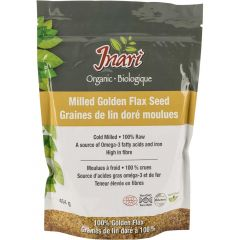 Inari Organic Cold Milled Golden Flax, 454g