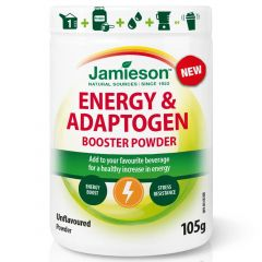 Jamieson Energy and Adaptogen Booster Powder, 105g