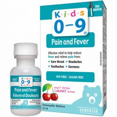 Kids 0-9 Pain and Fever