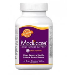 Moducare Kids Daily Immune Support, 60 Chewable Tablets