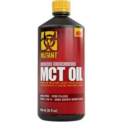 Mutant Core Series MCT Oil (100% Pure C8 and C10, No Fillers), 946ml