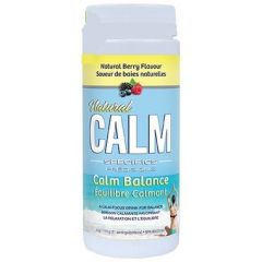 Natural Calm Balance for Kids and Adults (Stay calm & focused) Wildberry Flavour, 133g