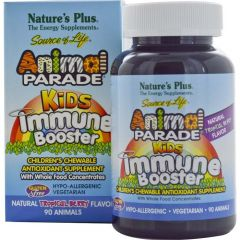 Nature's Plus Animal Parade Kids Immune Booster, 90 Animal Shaped Tablets