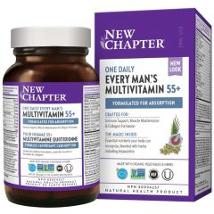 New Chapter One Daily Every Man's Multivitamin 55+