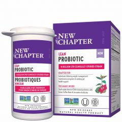 New Chapter Lean Probiotic, 30 Capsules