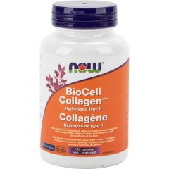 Now BioCell Type II Collagen 500mg, 120 Vegetable Capsules