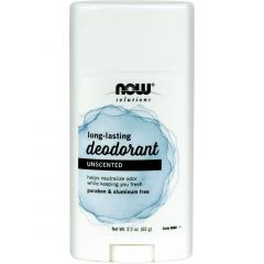 Now Deodorant Stick Unscented 62g
