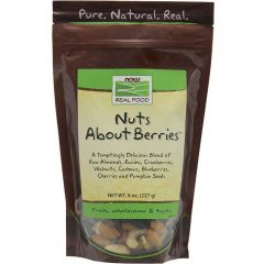 NOW Nuts about Berries Snack Mix, 227g