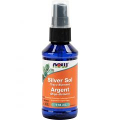 Now Silver Sol Trace Element Spray 118 ml