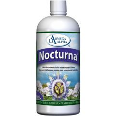 Omega Alpha Nocturna (Sleep and Anxiety Support), Natural Peppermint Flavour, 500ml
