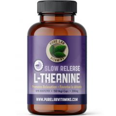 Pure Lab Vitamins L-Theanine Slow Release