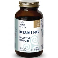 Purica Pure Betaine HCL 500mg, 180 Capsules