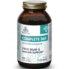 Purica Complete 360 Micronized Mushrooms (360 Degree Stress Relief & Immune Support)