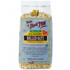 Bob's Red Mill Organic Rolled Oats, 454g