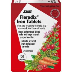 Salus Floradix Iron Tablets (Now Available In TWO Sizes!)