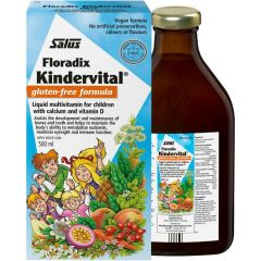 Salus Kindervital Multivitamin For Children (Vegan and Gluten-Free)