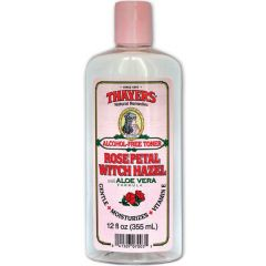 Thayers Alcohol Free Witch Hazel Toner with Aloe, 355ml
