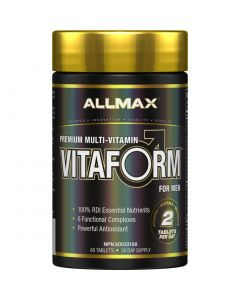 Allmax Vitaform, Men's Multi-vitamin, 60 Tablets