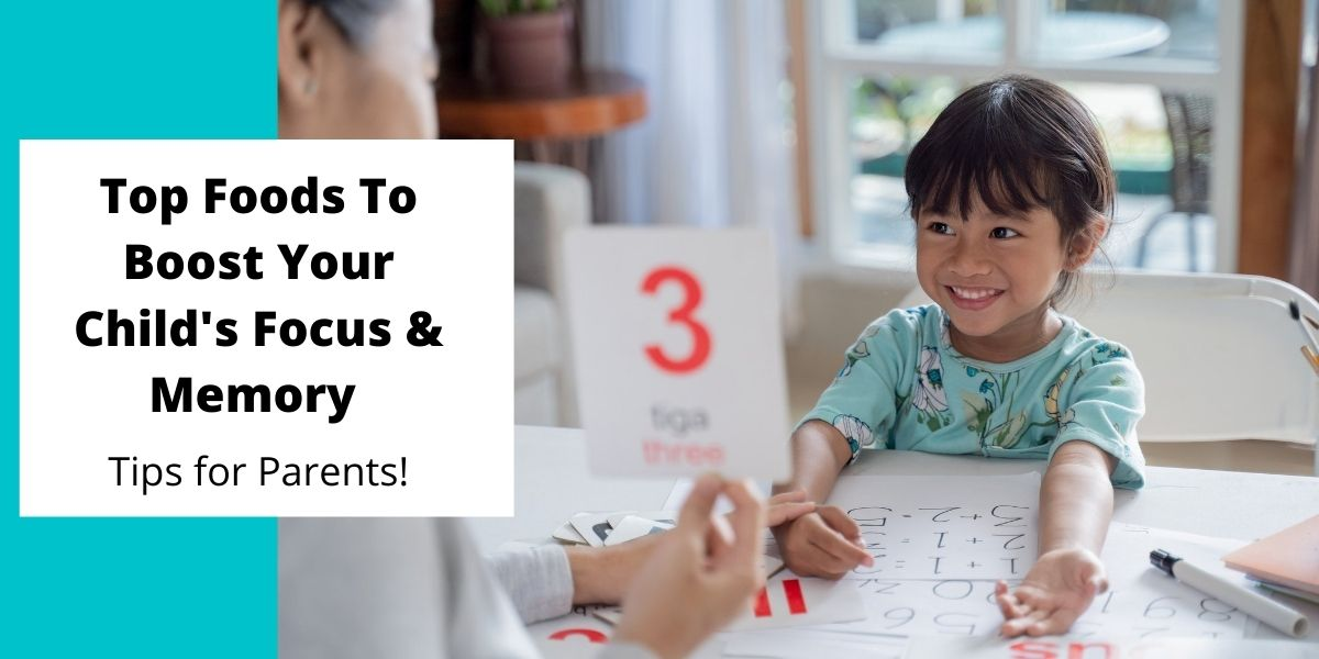 Top Foods to Boost Your Child's Brain and Memory