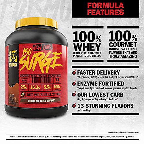 Mutant Iso Surge, Protein Whey Isolate---NOW ON SALE ~ SAVE 15% (Promotion Price Will Show In Your Cart)