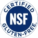 Icon of NSF Certified Gluten Free